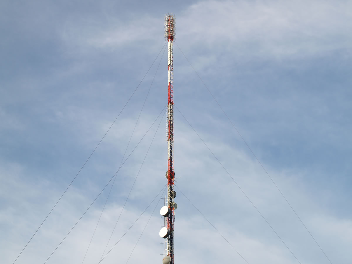DVB-T Brunei Phase 2 – Andulau TX Site, 161.25m AD1500 mast structural upgrade and New digital infrastructure